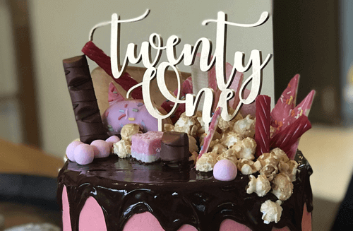 cake topper | etchArt NZ
